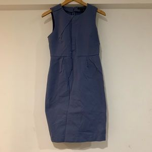 Banana republic blue dress